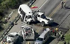 12 Dead, 3 Injured As Church Van Crashes Into Truck In Texas Four Killed As Truck Hits Bus On Lagosibadan Expressway Premium Pepsi Crashes Into Fort Bend County Creek Abc13com Update One Dead After Tractor Trailer House In Carroll Truck Crash Chicago Best 2018 Woman Dies Crash Between Car I95 Cumberland Part Of Nb I69 Eaton Co Reopens 1 Critical Cdition Hwy 401 Near Dufferin The Poultry Reported Rockingham Cleveland His Got Stuck Then He Saw A Train Coming Sun Herald Louisa Man Gop Crozet