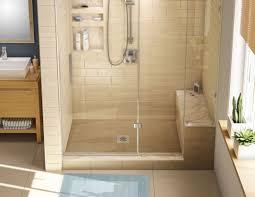 prefabricated tile shower kits ideas stalls home depot walk in