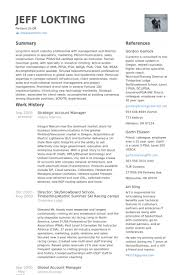 Strategic Account Manager Resume Samples Visualcv Rh Com Examples 2013 Bank