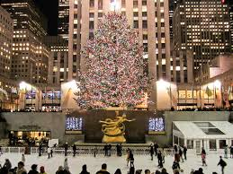 Rockefeller Plaza Christmas Tree by Rockefeller Center U0027s Christmas Tree And Ice Skating Midt U2026 Flickr