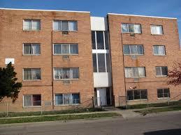 Slightly Rundown Apartment Building
