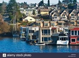 100 Lake Union Houseboat For Sale USA Washington Seattle S Permanently Moored On