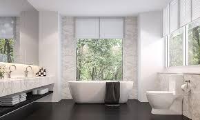 30 black and white bathroom design ideas design cafe