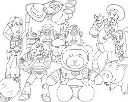 Et Drawing Toy Story Famous Coloriage Buzz Pattern Coloriage Toy Story Lotso
