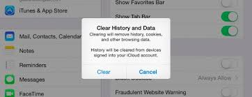 Clear Safari s History and Cookies on iPhone and iPad and Keep