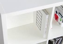rückwand für ikea kallax regal kallax fach 2 stück für 2 regalfächer beidseitig furnier weiß maße 33 5 x 33 5 x 1 6 cm