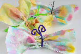 Paper Towel Butterflies X 3