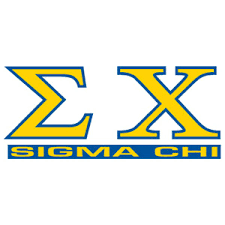 Greek Store Sigma Chi Letters Over Name Decal Greek Clothing Greek