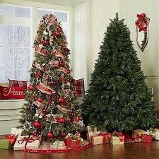 Sears Pre Lit Christmas Trees Decor In Intended For