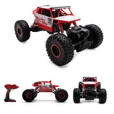 4WD RC Monster Truck Off-Road Vehicle 2.4G Remote Control Buggy ...
