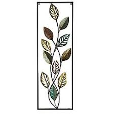 Cozy Ideas Metal Leaves Wall Decor Or Ginkgo Leaf Art Elements Gold Black Banana Decorative Grape