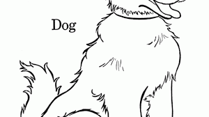 Interesting Idea Coloring Page Dog Pages Free And Printable Bone Cat House Doggy Paw Hot Fire D
