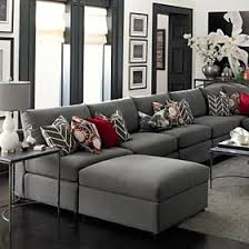 grey living room sectional switch the red for purple and this