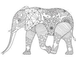 New Adult Coloring Pages Elephant Victorian Garden And More