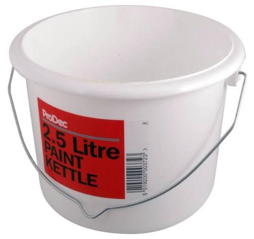 ProDec 7pc 2.5 Litre Plastic Paint Kettle
