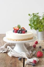 philadelphia torte frischkäse torte ohne backen