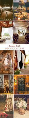 Rustic Barn Wedding Ideas For Fall