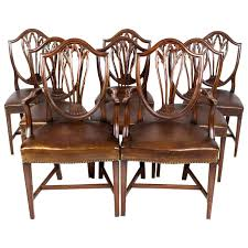 Antique Set 8 English Hepplewhite Dining Chairs C.1900 At 1stdibs Tiger Oak Fniture Antique 1900 S Tiger Oak Round Pedestal With Ding Chairs French Gothic Set 6 Wood Leather 4 Victorian Pressed Spindle Back Circa Room 1900s For Sale At Pamono Antique Ding Chairs Of Eight Chippendale Style Mahogany 10 Arts Crafts Seats C1900 Glagow Antiques Atlas Edwardian Queen Anne Revival Table 8 Early Sets 001940s Extendable With Ball Claw Feet Idenfication Guide