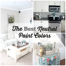 Neutral Colors For A Living Room by The Best Neutral Paint Colors The Glam Farmhouse
