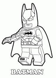 Lego Batman Coloring Pages Dc Universe Super Heroes