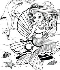 Lisa Frank Unicorn Coloring Pages Download Page Mermaid DOWNLOAD Detail Name