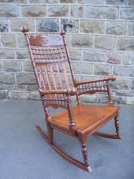 Arts & Crafts Oak Rocking Chair