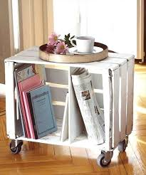 Milk Crate Coffee Table Wooden Furniture Design Ideas Pallet