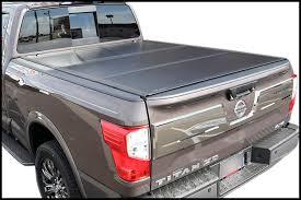 UnderCover Ultra Flex UX Nissan Titan Hard Folding Tonneau Cover
