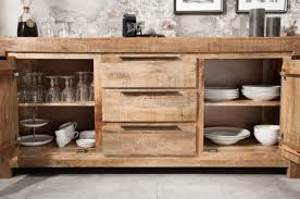 casa padrino country style sideboard 175 x 50 x h 76 cm solid wood cabinet with 2 doors and 3 drawers living room furniture
