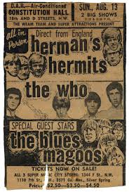 Hermans Hermits The Who Blues Magoos My Concert