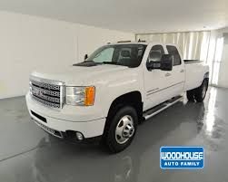 100 2013 Gmc Denali Truck GMC 3500 Mileage 96002 Color White Location Chevy