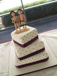 A Fun Wedding Cake With A Jamaican Beach Theme X CakeCentral