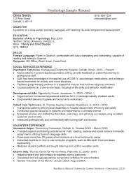 Front Desk Job Resume by Examples Of Resumes Skill Resume Scientific Communications