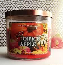 Bath And Body Works Pumpkin Apple Candle by Fall Haul Makeup U0026 Flowers