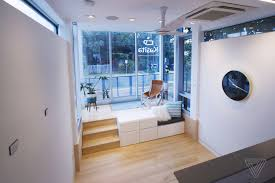This Tiny Modular Home Is 325 Square Feet Of IoT Heaven - The Verge Lovely Design Tech Homes Reviews Concept Home Design Gallery Emejing Homes Reviews Pictures Interior Ideas Best Tech Hinses 100inch 4k Smart Laser Tv Wants To Bring Cinema Dirtt Environmental Solutions Rethinks Modularity For The New 25 Parade Of Ideas On Pinterest Master Shower Pricing Hightech Sale With All Bells And Whistles Houston Amazing House
