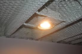 Exposed Basement Ceiling Lighting Ideas by Carri Us Home Painting A Basement Ceiling