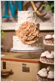 Rustic Burlap Cake By Intricate Icings