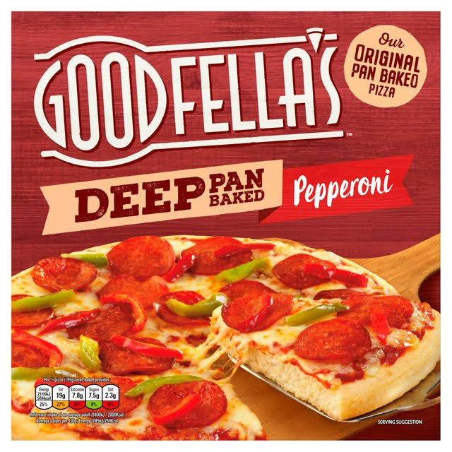 Goodfella's Deep Pan Baked Pepperoni Pizza - 415g