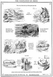 The Color Page Can Be Found At Kingjamesbibleonlineorg Bible Image Hires Temptation Of Jesus