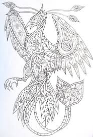 Adult Coloring Pages To Print Phoenix Mandala Design Letter Size Lego Chima