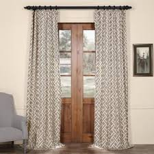Geometric Pattern Curtains Canada by Geometric Curtains U0026 Drapes For Less Overstock Com