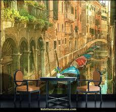 Italian Villa Wallpaper Murals Tuscany Vineyard Style Decorating