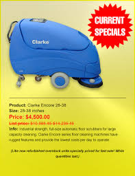 Clarke Floor Scrubber Canada by Priced Right Cleaning Equipment Floor Scrubbers Floor Buffers