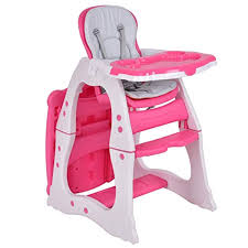 Baby High Chair, 3 In 1 Infant Table And Chair Set, Convertible Booster  Seat With 3-Position