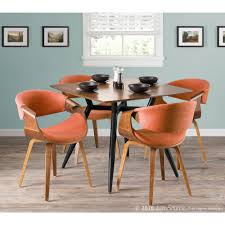 Lumisource Curvo Bent Wood Walnut And Orange Dining/Accent Chair CH ... Ding Table And Chairs In Style Of Pierre Chapo Orange Fniture 25 Colorful Rooms We Love From Hgtv Fans Color Palette Leather Serena Mid Century Modern Chair Set 2 Eight Chinese Room Ming For Sale At Armchairs Or Side Living Solid Oak Westfield Topfniturecouk Zharong Stool Backrest Coffee Lounge Thrghout Ppare Dennisbiltcom Midcentury Brown Beech By Annallja Praun Lumisource Curvo Bent Wood Walnut Dingaccent Ch Luxury With Walls Stock Image Chair Drexel Wallace Nutting Mahogany Shield Back