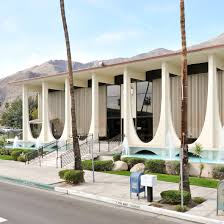 100 Palm Springs Architects Tapered Colonnade Fronts Coachella Valley Savings And Loan Bank
