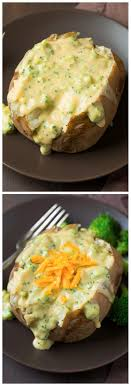 Baked Potatoes With Broccoli Cheese Sauce - Making This Again ... 15 Frugal Meals For A Small Grocery Budget Baked Potato Bar Twice Potatoes With Bacon And Cheddar Simple Awesome Best 25 Ideas On Pinterest Potato Used A Fully Loaded Guide To The Ultimate Serious Eats Potatoes Baked Grilled Bar Platings Pairings Picmonkey Image 31 Office Lunch French Fry The Pioneer Woman Easy Skins Recipe Cwhound Sweet Healthy Ideas For Kids