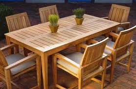 Awesome Wood Patio Table Designs Outside Tables