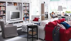 Living Room Ideas Ikea by Exquisite Image Of Ikea White Wall Shelves As Furniture For