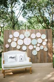 Incredible Rustic Wedding Backdrops Gallery Backdrop With Printed Embroidery Hoops